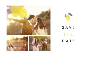 Save The Dates Palermo white