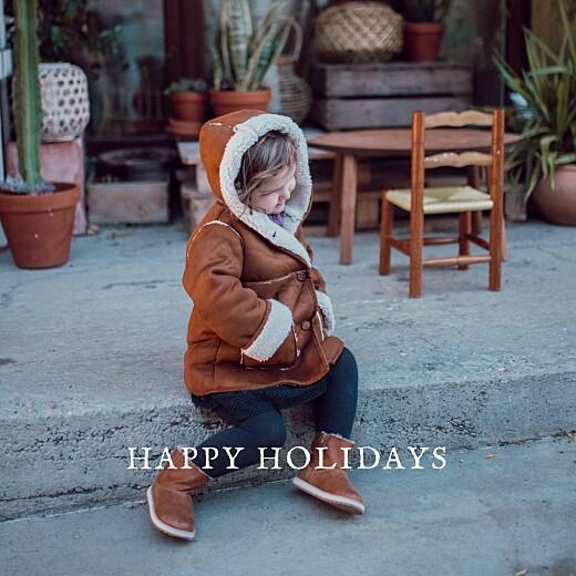betway必威开户网站圣诞贺卡假日边框(箔)白色