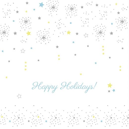 Christmas Cards Dainty stars white