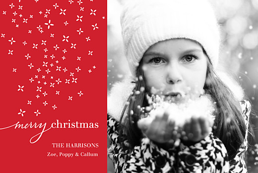 Christmas Cards Merry christmas red