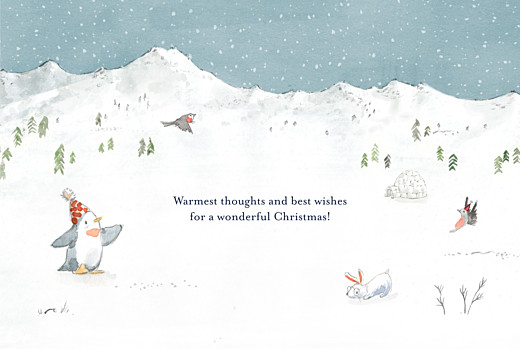 Christmas Cards Lapland blue - Page 3