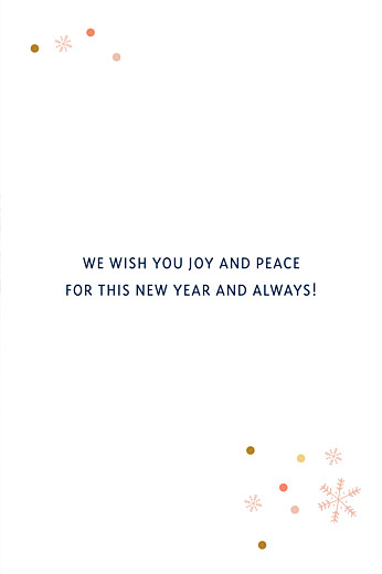 Christmas Cards Christmas confetti (4 pages) blue
