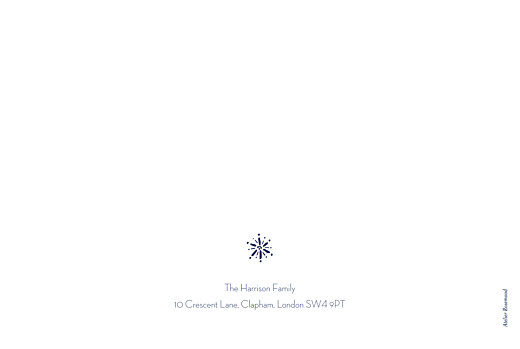 Christmas Cards Winter wonderland (4 pages) blue