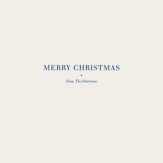 Christmas Cards Natural chic (foil) blue