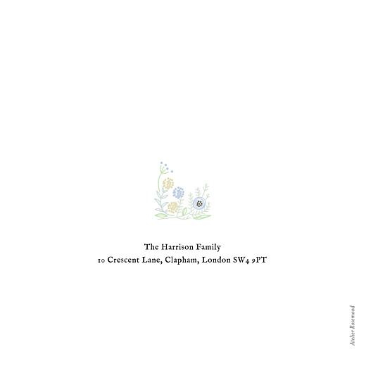 betway必威开户网站圣诞贺卡乡村圣诞冠(箔)蓝色 - 第4页