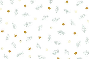 Notecards Whimsical winter white