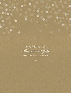 Wedding Invitations Celebration kraft