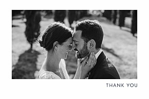 Wedding Thank You Cards Sparks fly (foil) green