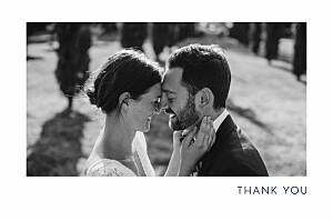 Foil sparks fly (foil) navy blue wedding thank you cards