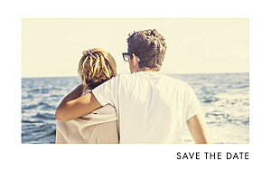 Save The Dates Sparks fly (foil) navy blue
