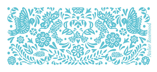 Wedding Gift Tags Papel picado blue - Page 2