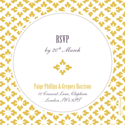 RSVP Cards Radiance yellow - Page 2