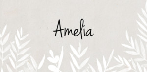 Place Cards Foliage gray