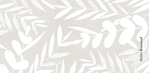 Wedding Place Cards Foliage gray - Page 3