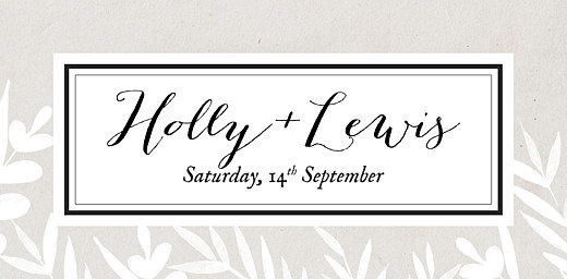 Wedding Place Cards Foliage gray - Page 4