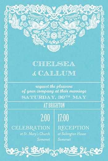 Papel Picado Wedding Invitations Atelier Rosemood