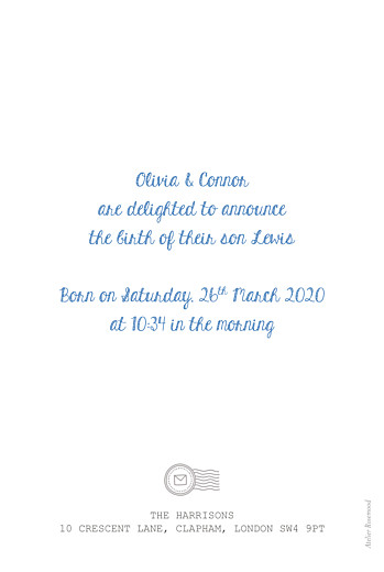 Baby Announcements Picto portait white - Page 2