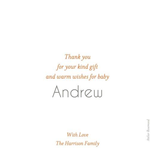 Baby Thank You Cards Mini polaroid white - Page 2