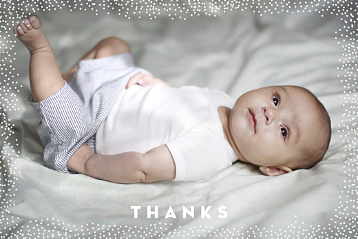 Baby Thank You Cards My little treasure kraft