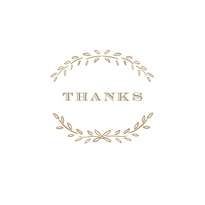 Baby Thank You Cards Poem kraft finition