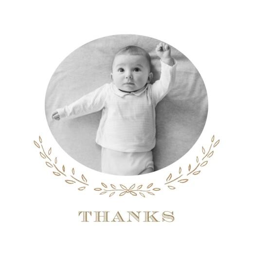 Baby Thank You Cards Poem photo kraft