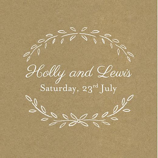 Wedding Gift Tags Poem kraft
