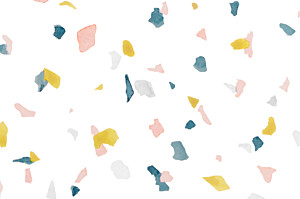 Notecards Granite pink & yellow