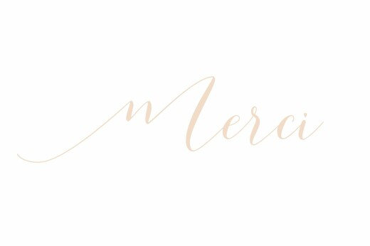 Notecards Merci white