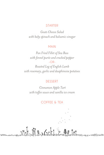 Christening Menus The promise white - Page 3