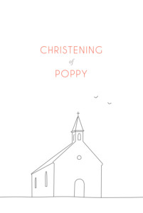 Christening Invitations The promise white