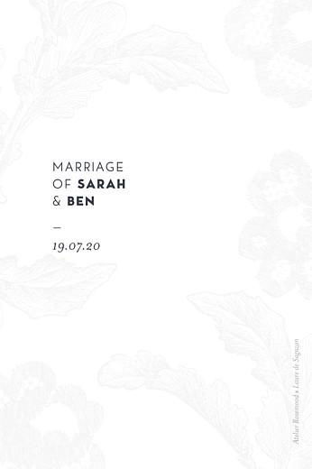 Table Numbers Laure de sagazan (foil) white