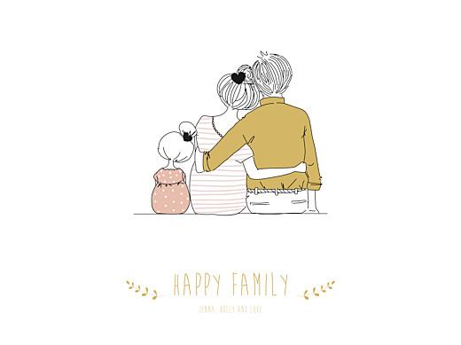 海报可爱的家庭女孩-第1页