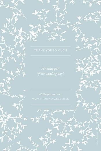 婚礼谢谢卡片反射绿色 - 第2页