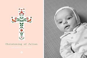 personalised christening invitations free samples rosemood