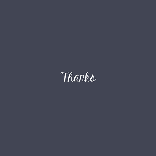 Baby Thank You Cards Lumière (foil) midnight blue