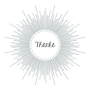 Christening lumière white baby thank you cards