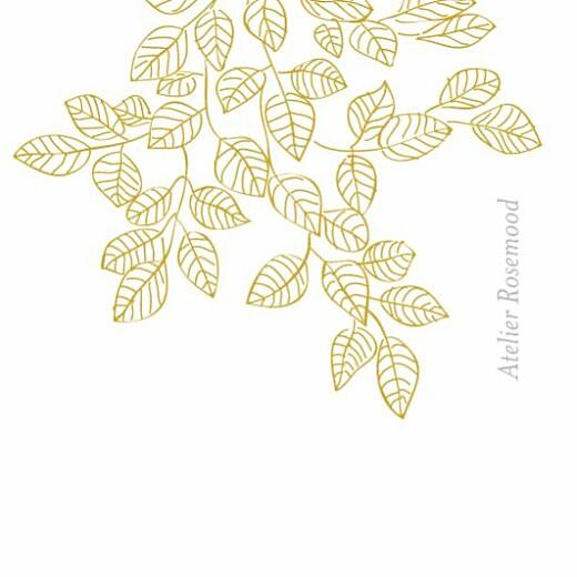 Wedding Gift Tags Botanical border yellow - Page 2