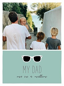Daddy cool green photo small posters