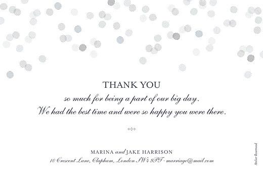 Wedding Thank You Cards Celebration (foil) inky - Page 2