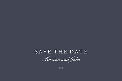 Save The Date Cards Celebration (foil) inky finition