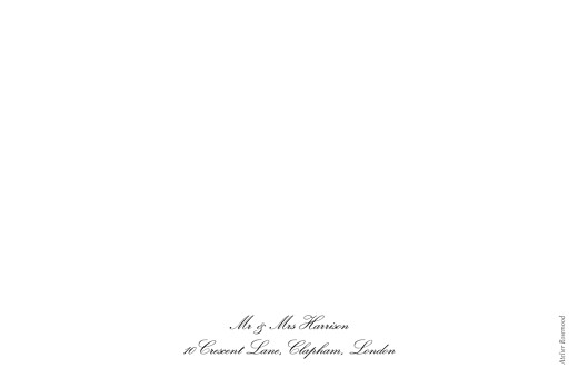 Wedding Thank You Cards Tradition (4 pages) white - Page 4