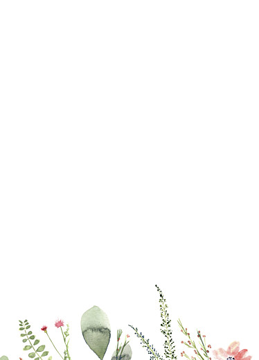 Wedding Order of Service Booklets Spring blossom beige - Page 3