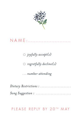 RSVP Cards Spring blossom cream - Page 2