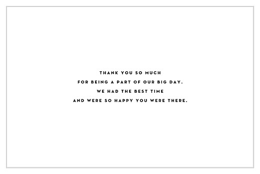 Wedding Thank You Cards Our big day (4 pages) white - Page 3