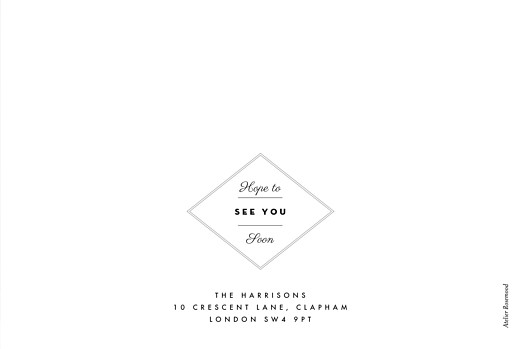 Wedding Thank You Cards Our big day (4 pages) white - Page 4