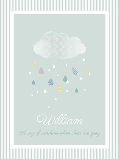 海报四月的雨绿 - 第1页