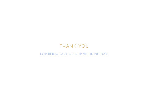 Wedding Thank You Cards Simple photo landscape 4 pages white - Page 3