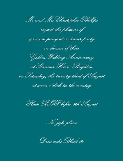 Birthday Invitations Tradition green