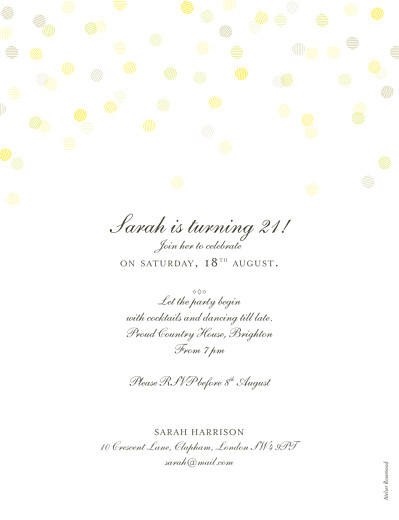 Birthday Invitations Celebration kraft - Page 2