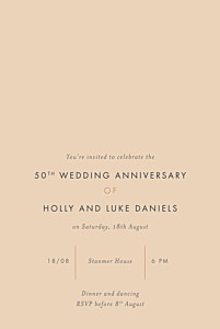 Love letters (foil) small pink foil birthday invitations